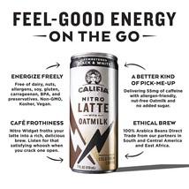 Califia Farms Unsweetened Black&White Nitro Latte with OatMilk 7 oz ( Pa... - $24.74