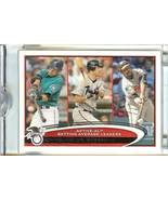2012 topps al batting leaders ichiro mauer guerrero serial # 1/1mariners... - $499.99