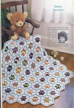 Annie's Baby Bears Afghan Crochet Pattern + more - $8.99