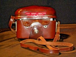Zeiss Ikon Contaflex Super Camera with hard leather Case AA-192011 Vintage image 10