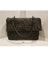 100% Authentic Bottega Veneta Tobu Olimpia Shoulder Bag in Ardoise (Grey)  EUC! - $1,340.72