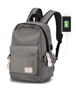 Travel laptop backpack with USB Charging Port, Modoker School Bookbag fo... - $470,42 MXN