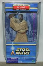 Star Wars Mace Windu Collectible Figure 2002 HASBRO #26498, SEALED MIB - $24.14