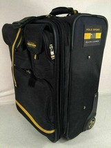 Polo Sport Ralph Lauren Rolling Carryon Luggage Vintage Blue Bag LoHead ... - $188.09