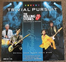 TRIVIAL PURSUIT the Rolling Stones collector's edition - 2010 Hasbro - $9.49