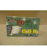 Michaels Stores Christmas Lights Clear 100ct 32... - $15.44