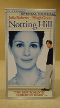 Universal Notting Hill VHS Movie  * Plastic * - $4.69