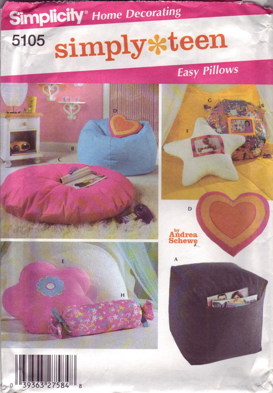 teen pillow collection patterns