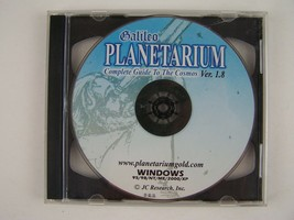Galileo Planetarium Complete Guide To The Cosmos PC CD Software - $24.74