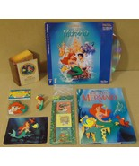 Golden Disney Little Mermaid Stereo laser Video... - $53.93