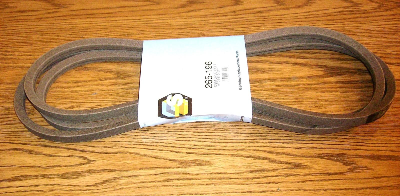 """Deck Belt fits Cub Cadet, MTD, Toro 50"""" Cut 754-04077, 954-04077, 1120332"""
