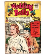 WEDDING BELLS #19 1956-QUALITY COMICS-Matt Baker-LAST ISSUE! - $56.75