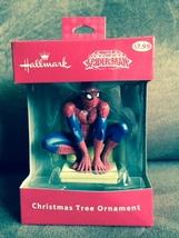 Hallmark Spider-Man Spiderman Marvel Comics Christmas Tree Ornament - $7.00