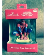 Hallmark Spider-Man Spiderman Marvel Comics Christmas Tree Ornament - $7.00