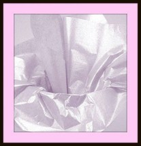 NEW MYLAR EMBROIDERY  SILVER SHEETS  BIG 20x24 inches - $4.36