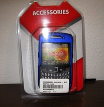 Metallic Blue Snap On Cover for Blackberry 8520/8530 Phone New & Sealed ... - $9.99