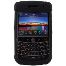 Otterbox Black Silicone Snap On Cover Blackberry 9630 Phone New & Sealed... - $12.99