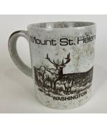 Vintage 1980's Mount St. Helens Ash Coffee Tea Coffee Mug Cup - $24.70