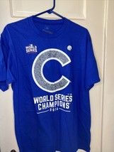 Chicago Cubs 2016 World Series Champion T Shirt Size Large - NEW - $14.80