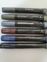 Covergirl Flamed Out Eye Shadow Liner Pencils Collection Set Lot of 6 Co... - $14.84