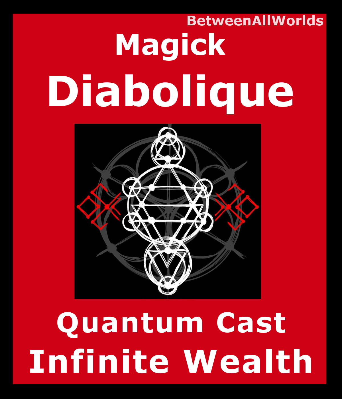 Primary image for Magick Diabolique Ritual Unlimited Wealth Riches Money Betweenallworlds Spell