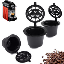 Home Kitchen Refillable Coffee Capsule Cup Reusable Refilling Filter For... - $4.90
