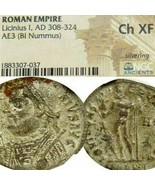 LICINIUS NGC Choice XF RARE R2 in RIC no.27 Silvered Ancient Roman Imper... - $296.10