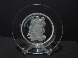 """DANBURY MINT Crystal Collector Plate """"Holy Family"""" by Michelangelo  - $11.99"""