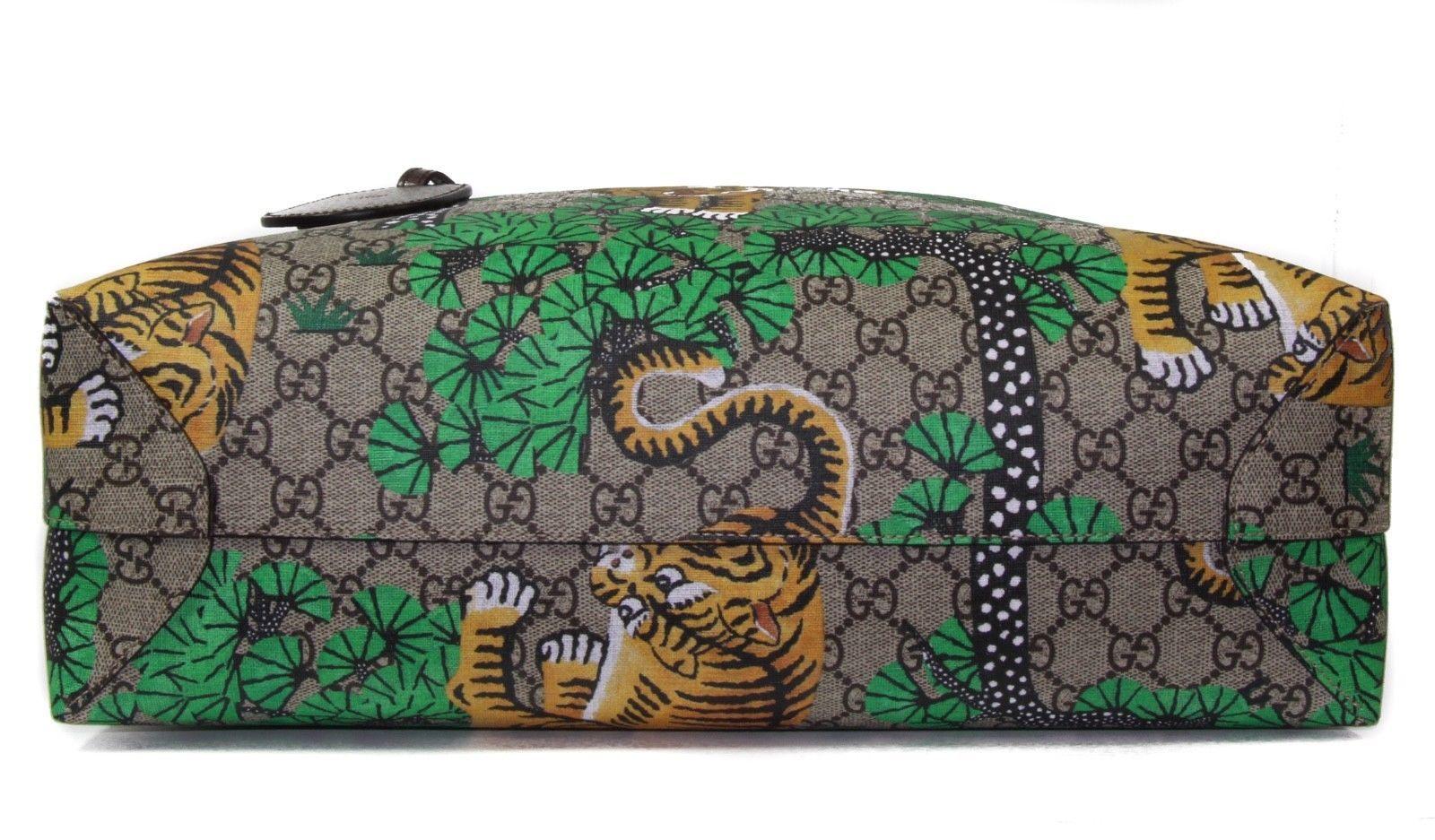 7df89de280b84 NWT GUCCI 412096 Bengal GG Supreme Tote Bag