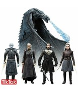 Jon Snow Daenerys Targaryen Night King Viserion Ice Dragon Arya Stark Queen - $28.50+