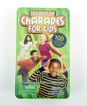 The Best of Charades For Kids Children's Game Travel Tin Case Ages 4+ NE... - $9.99