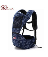 2-36 Months Baby Carrier Hip Seat 2 in 1 Cartoon Cotton Infant Backpack ... - $37.34