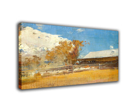 "Landscape Art Oil Painting Print On Canvas Modern Decor""Newstead's Shedt... - $18.60+"
