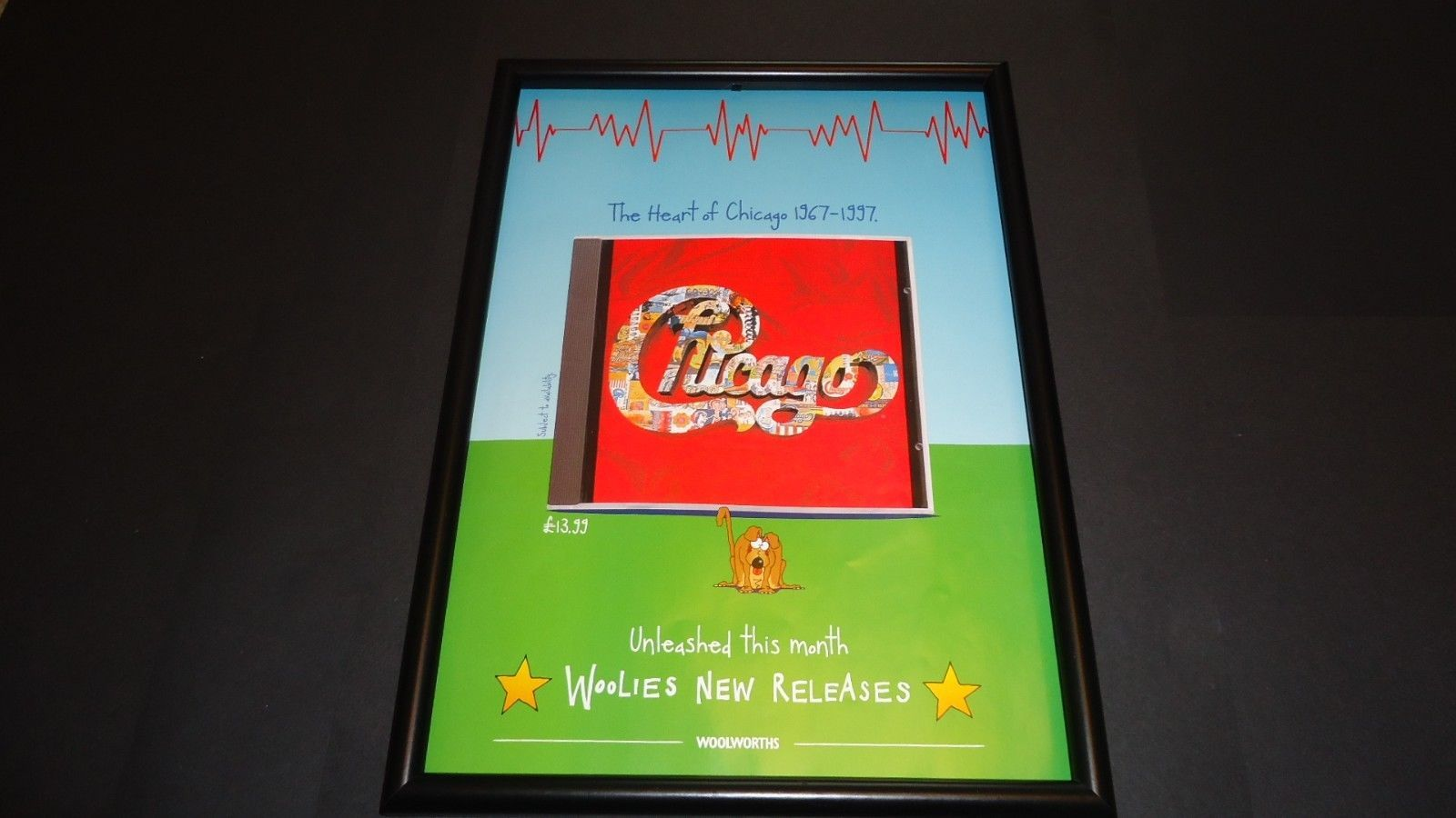 Primary image for Chicago-The heart of chicago-original advert framed