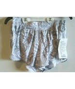 8 LONG Tall Ω Lululemon NWT Hotty Hot Short II MTAW/BLK Mini Twine White... - $43.69