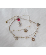 Betsey Johnson Necklace Ice Princess Tiara Crown NEW - $37.62