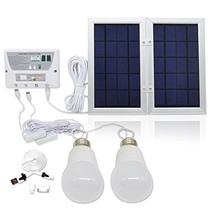 [6W Panel Foldable] HKYH Solar Mobile Light System, Solar Home DC System... - $81.56