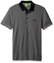 Hugo Boss Men's Luxury Cotton Polo Shirt T-shirt Regular Fit Paddos 50369736 001