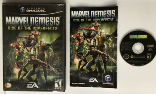☆ Marvel Nemesis Rise of the Imperfects (Nintendo GameCube 2005) COMPLETE in Box