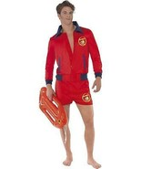 """BAYWATCH LIFEGUARD COSTUME, LICENSED FANCY DRESS, CHEST 38""""-40"""", MENS HUNK - $45.94"""