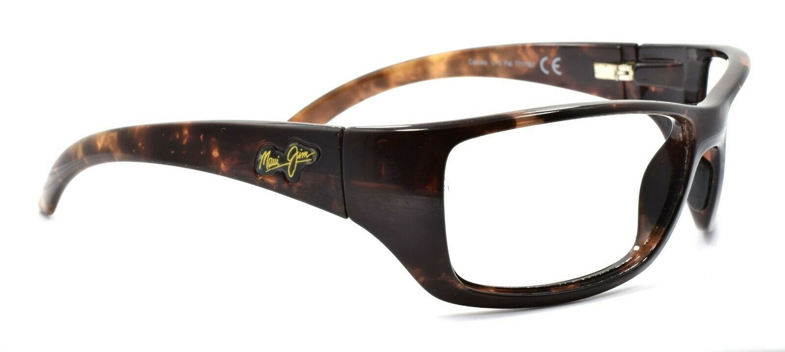 Maui Jim MJ-208-10 Canoes Sunglasses Tortoise 65 mm Wraparound FRAME ONLY