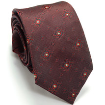 WEMBLEY 52L Vintage Rockabilly Skinny 2.5W Burgundy Polyester Mens Neck Tie - $59.39