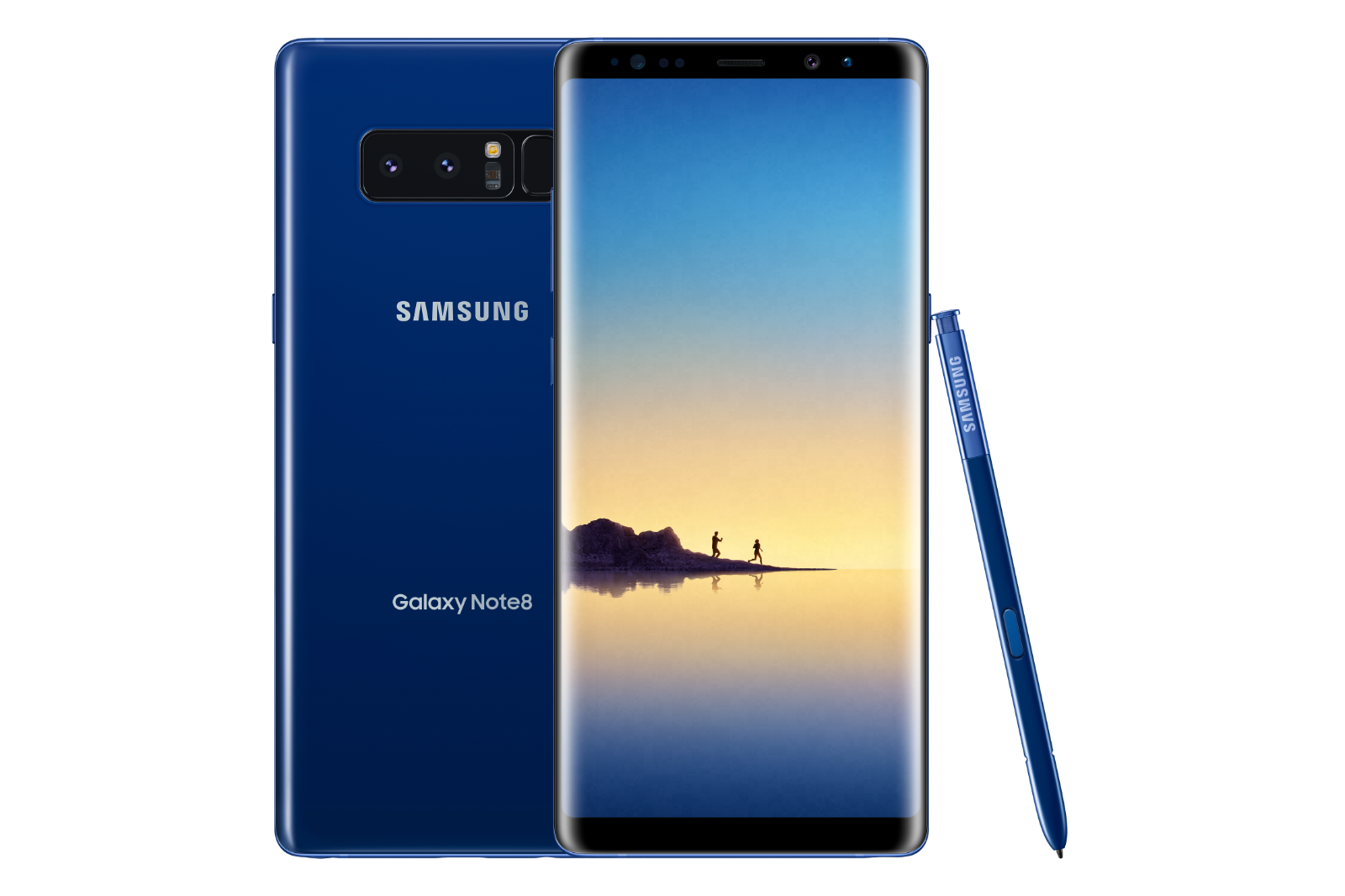 Samsung Galaxy Note 8 N950U 64GB Blue Unlocked Smartphone AT&T T-Mobile Verizon