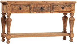 STUNNING LARGE VINTAGE STYLE TIAGO CONSOLE TABLE,71''WIDE X 20'' X 39''H. - $2,325.51