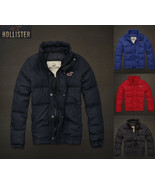 **New**Hollister By Abercrombie & Fitch Mens Silver Strand Down Jacket** - $127.51+