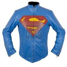 Man of steel superman leather  jacket 2  58609 std thumb200