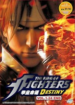 The King of Fighters Destiny Vol.1-24 End Region All ANIME DVD Ship From USA