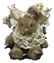 "Russ Plush 7"" Bunny Li'l Dutchess Lace Roses Stuffed Animal Rabbit (A4B54*) - $9.99"
