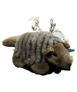 Plush Realistic Nine-Banded Armadillo Baby Stuffed Animal Lifelike (J3B8... - $19.99