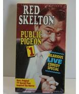 Red Skelton Public Pigeon #1 VHS Cassette Black & White Comedy  - $7.19